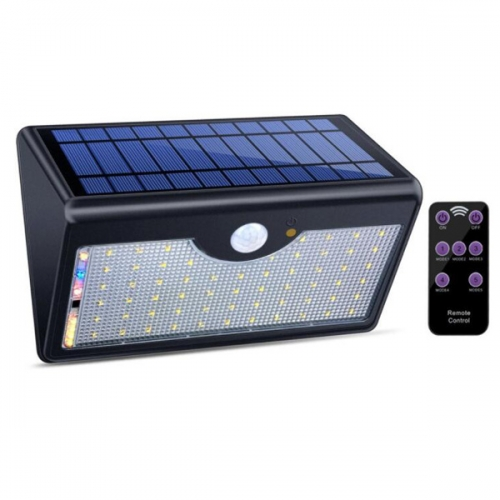 PIR Solar Wall Light W537P