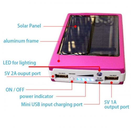 Solar Mobile Charger M0037W